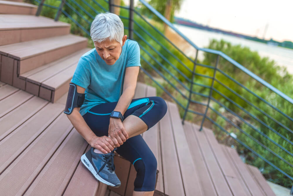 Treating Sudden Ankle Pain